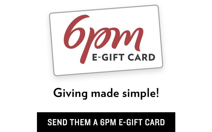 6pm e-Gift Card