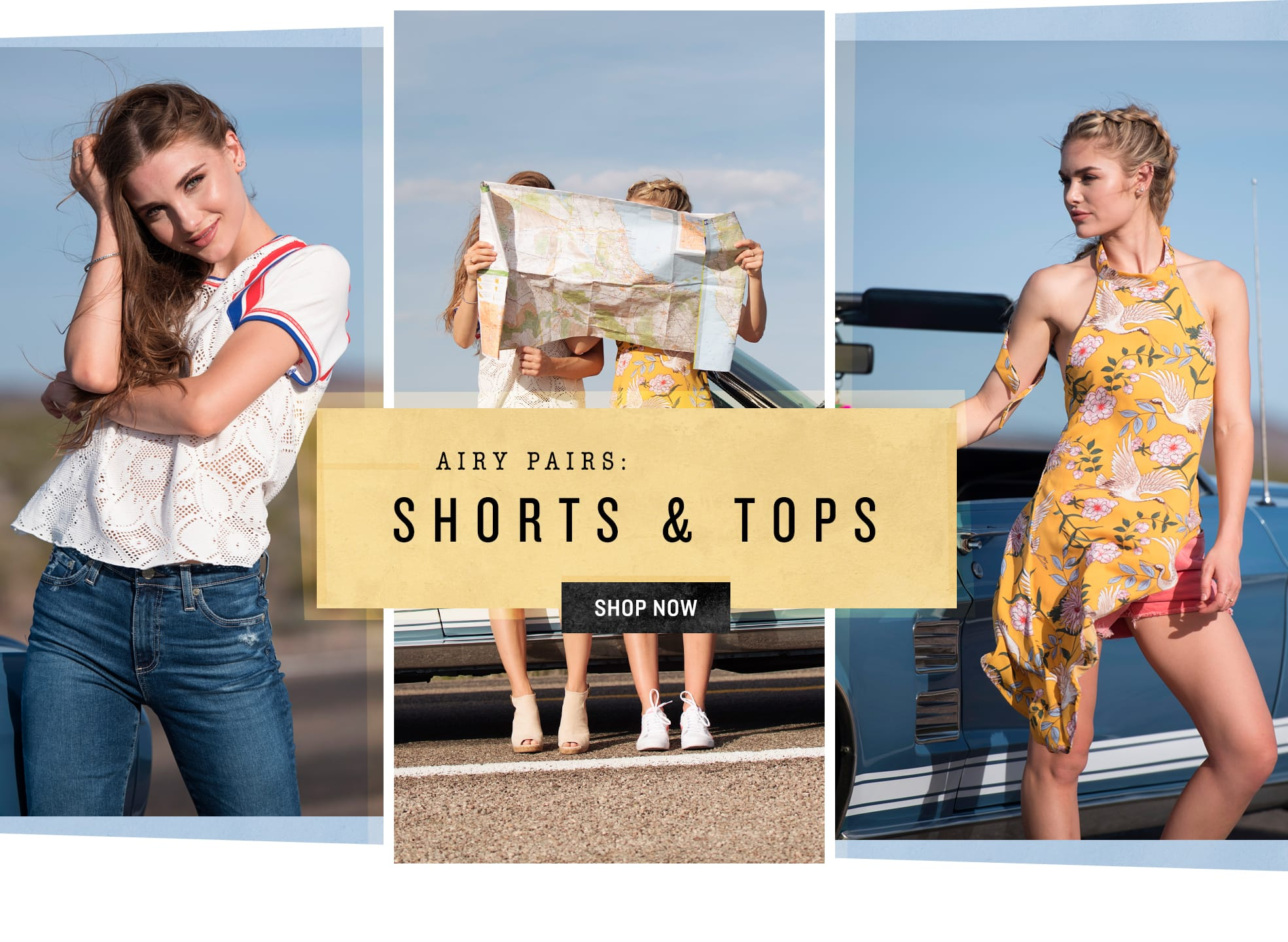 Shop Shorts & Tops