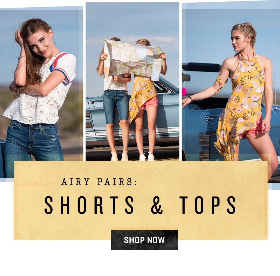Shop Shorts & Tops