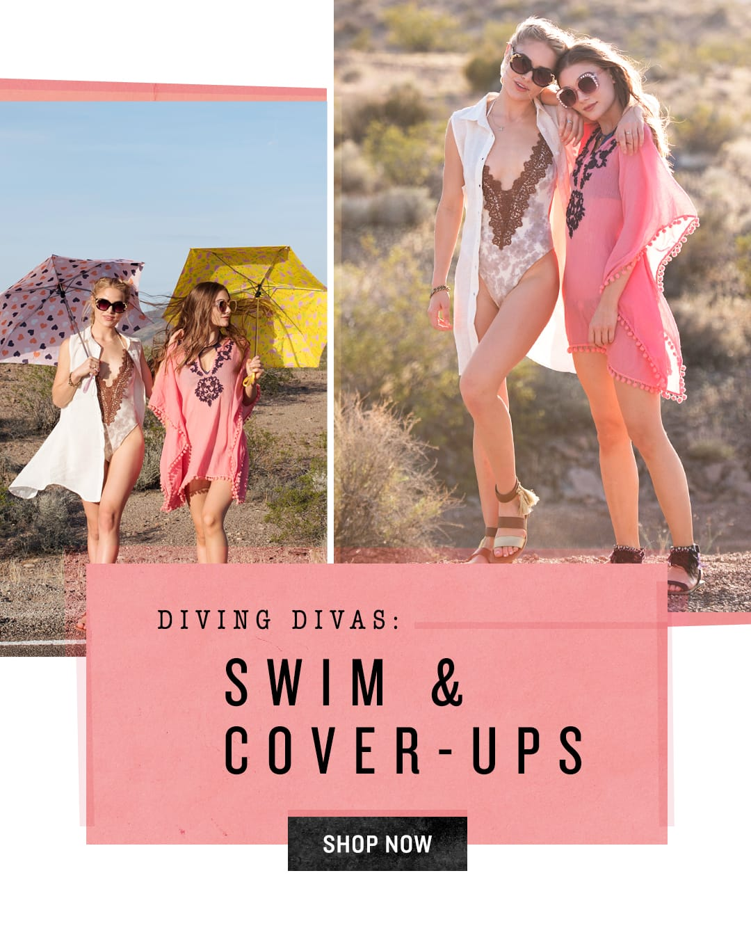 Shop Swim and Cover-Ups
