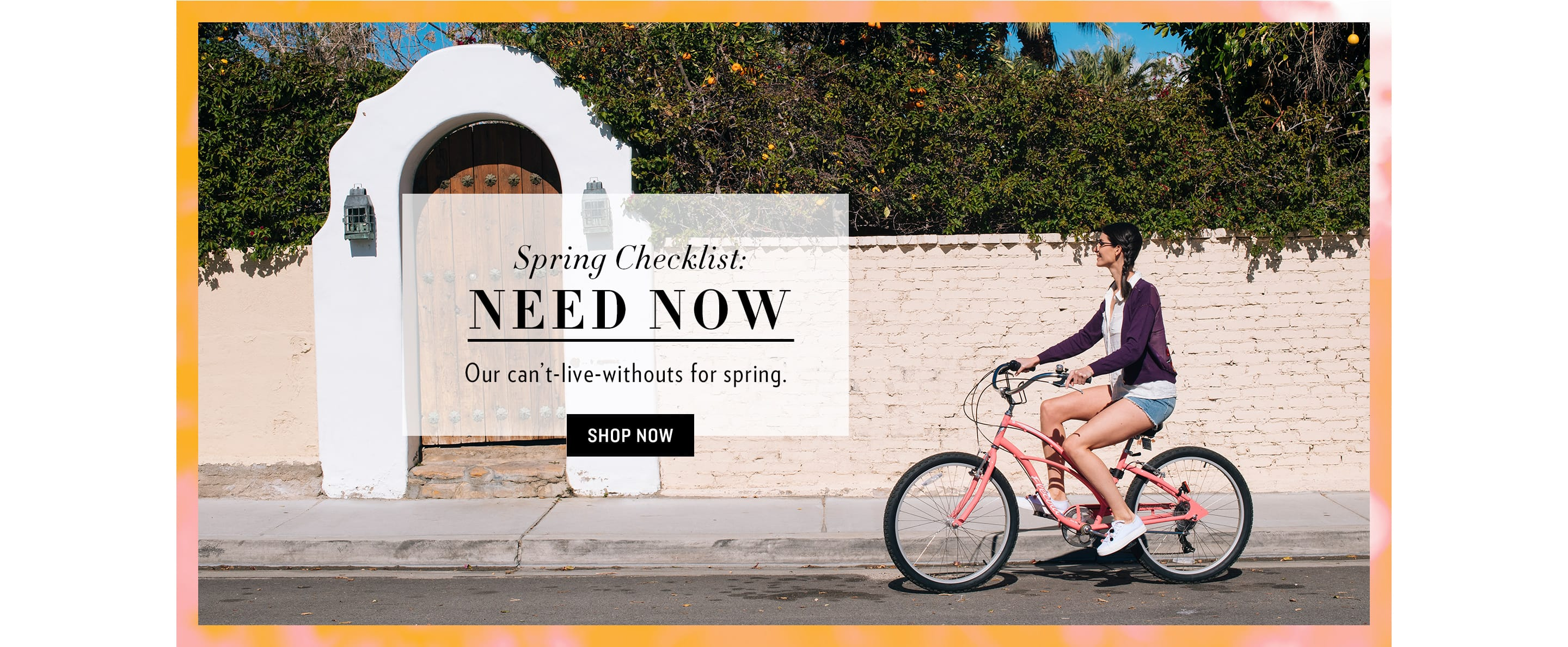 Spring Checklist Shop All