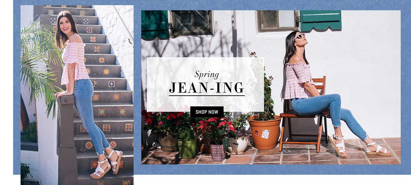 Spring Jeans