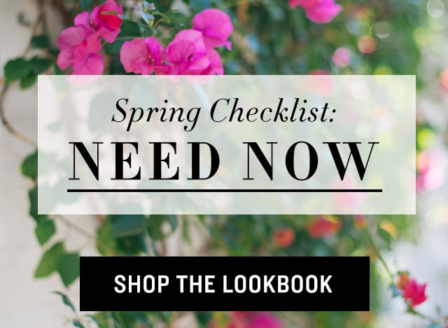 Shop Spring Checklist