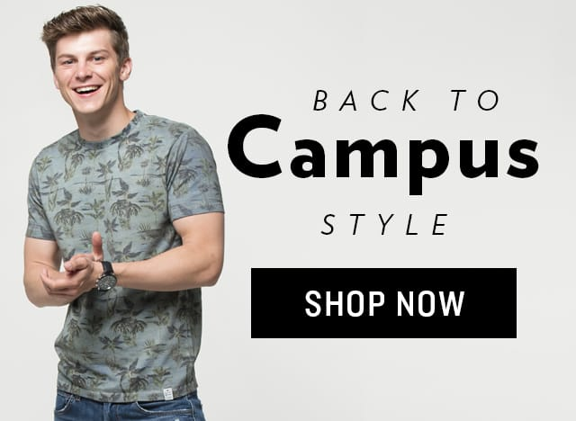 Shop Men's Back to Campus Style