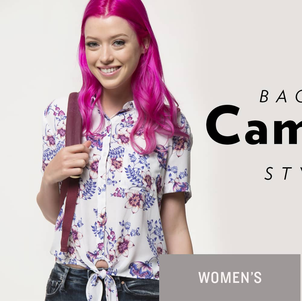 Shop Women's Back to Campus