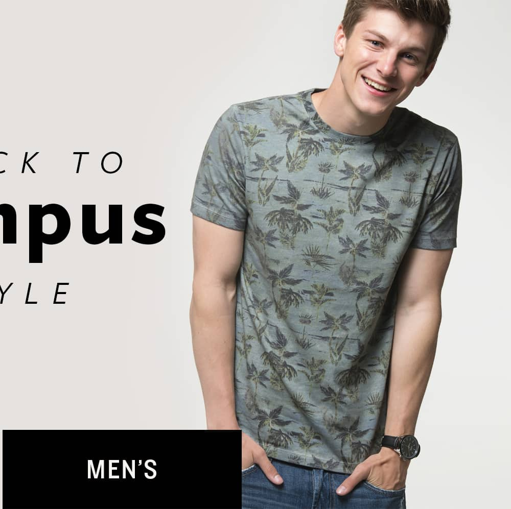 Shop Men's Back to Campus