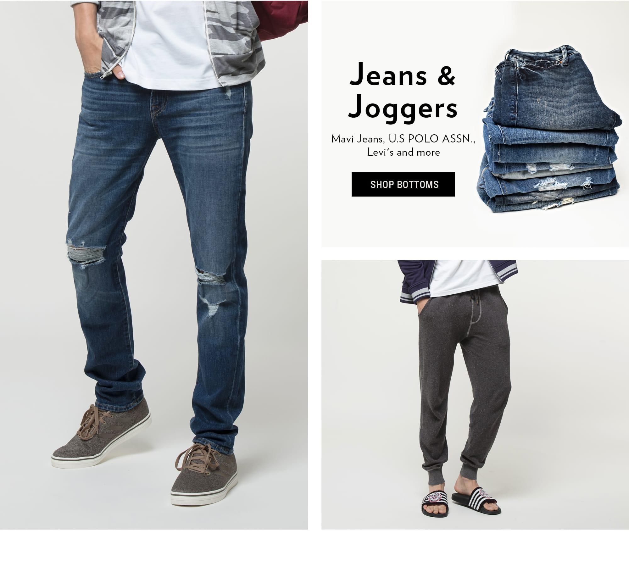 Shop Jeans & Joggers