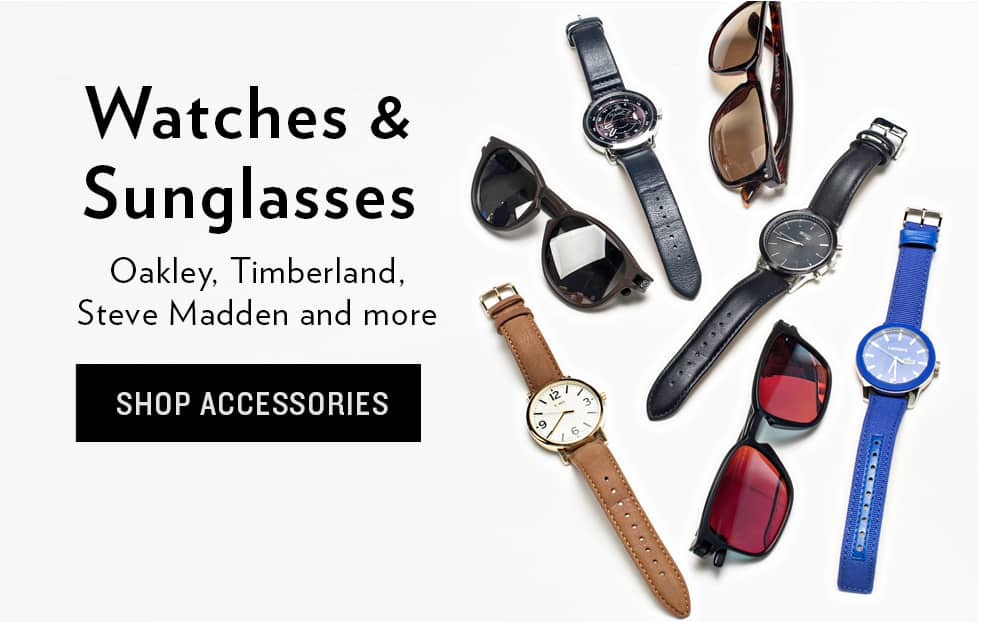 Shop Watches and Sunglasses