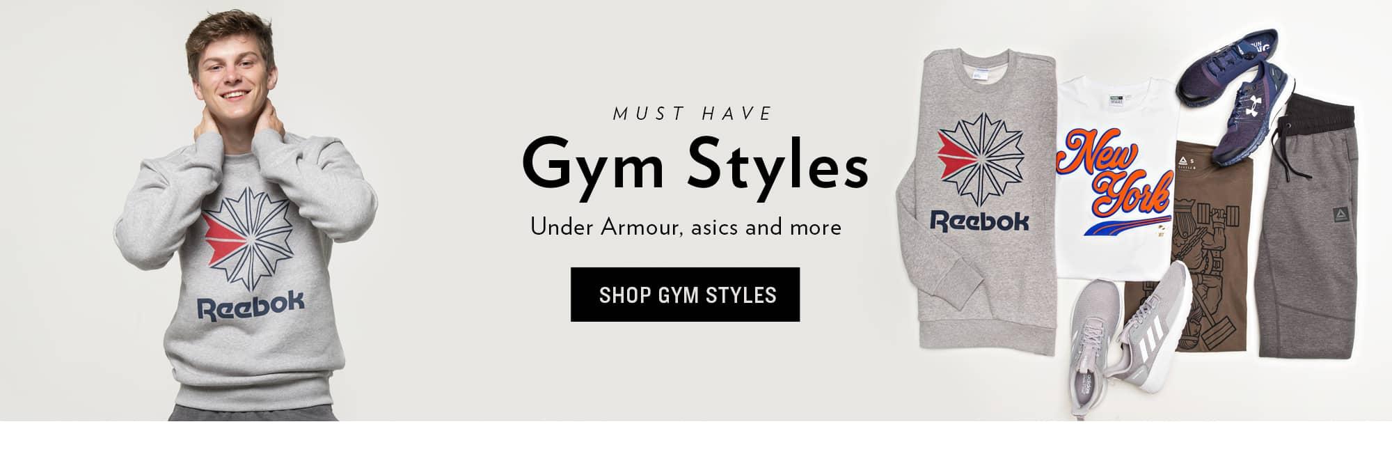 Shop Gym Styles