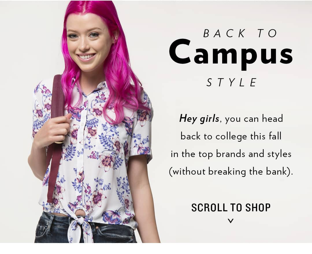 Back to Campus Style - Women's