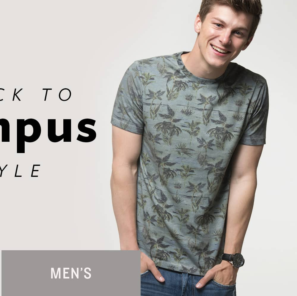 Back to Campus Style - Men's