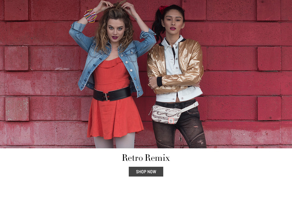 Retro Remix Lookbook