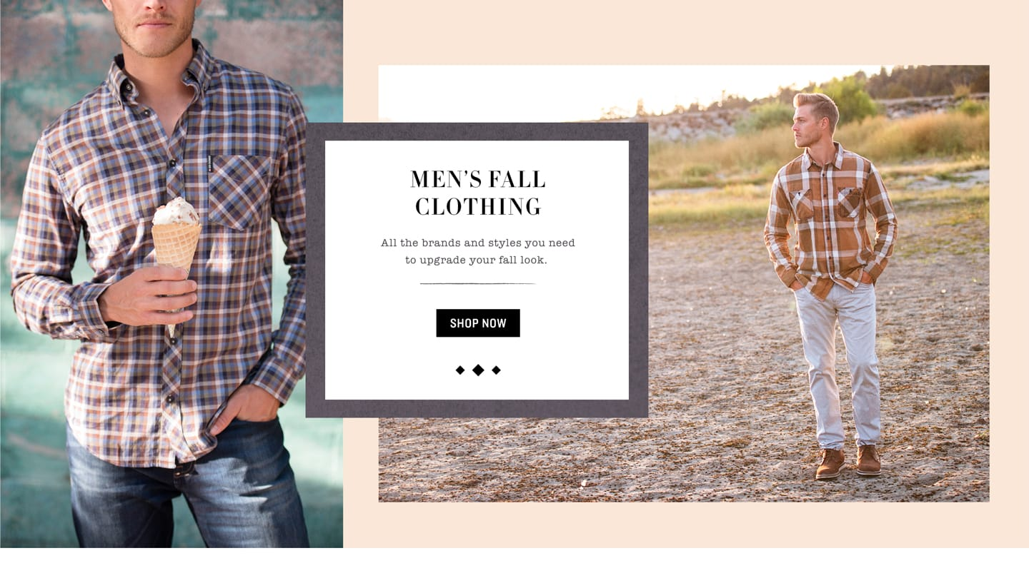 Shop Men's Fall Clothing