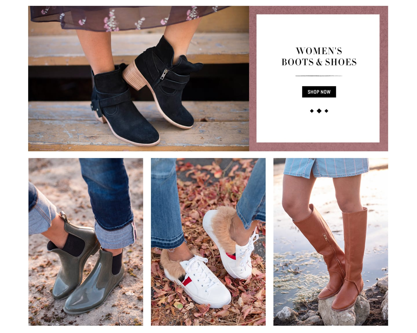 Shop Women's Boots and Shoes