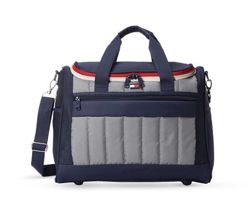 B 1/20 - Navy And Grey Tommy Hilfiger Travel Bag