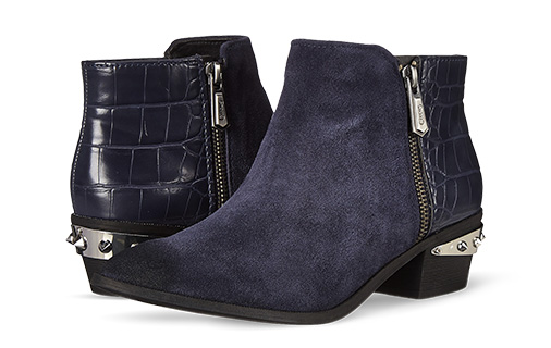 B 1/23 - Circus By Sam Edelman Blue Ankle Boots