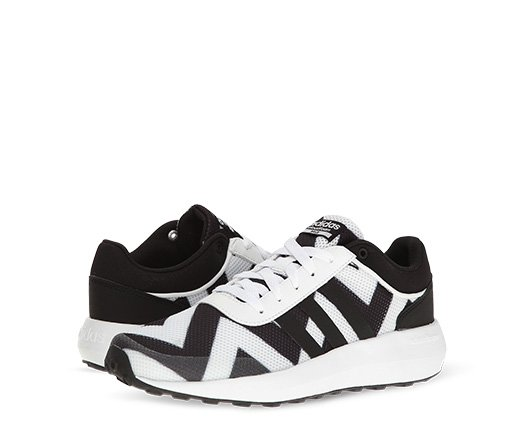 B 2/22 - adidas NEO Black And White Sneakers