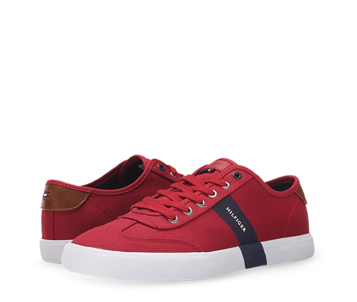 B 2/24 - Tommy Hilfiger Red Men's Sneaker