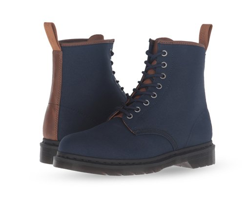 B 2/27 - Navy Dr. Martens Boots