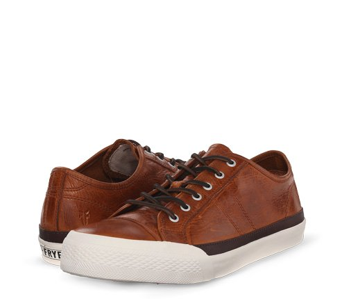 B 3/15 - Brown Frye Sneakers