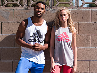 A 3/24 - adidas Spring Women's And Men's Outfits