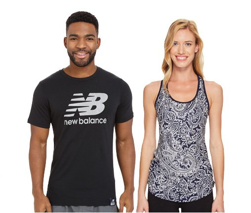 B 3/27 - New Balance Men's & Women's Workout Tops