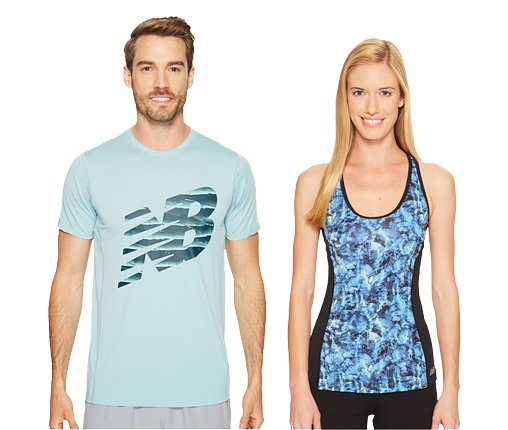 B 4/24 - New Balance Men's Shirt And Women's Tank Top
