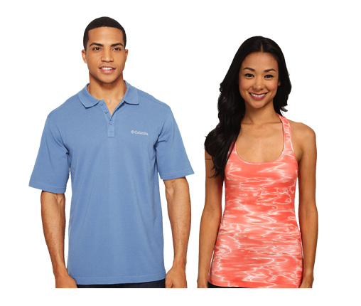 B 4/28 - Columbia Men's Polo Shirt