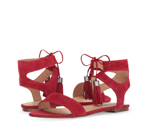 B 5/24 - Steve Madden Lace-Up Boho Sandals