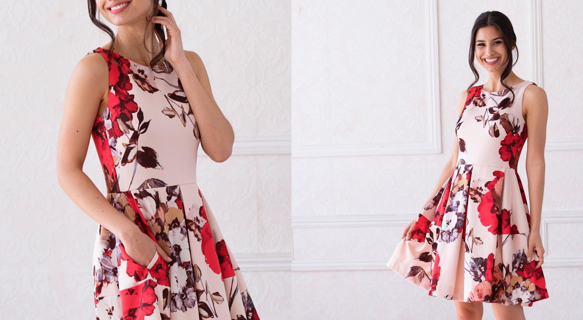 A 5/26 -Taylor Floral Dresses