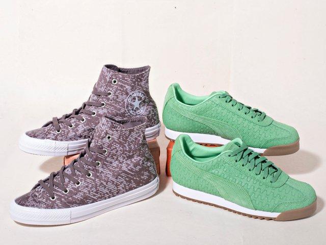 A 5/26 - Bright PUMA Sneakers