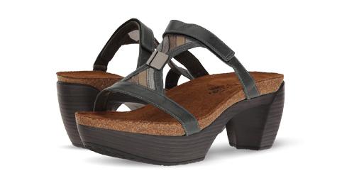 B 5/29 - Naot Euro Comfort Sandals