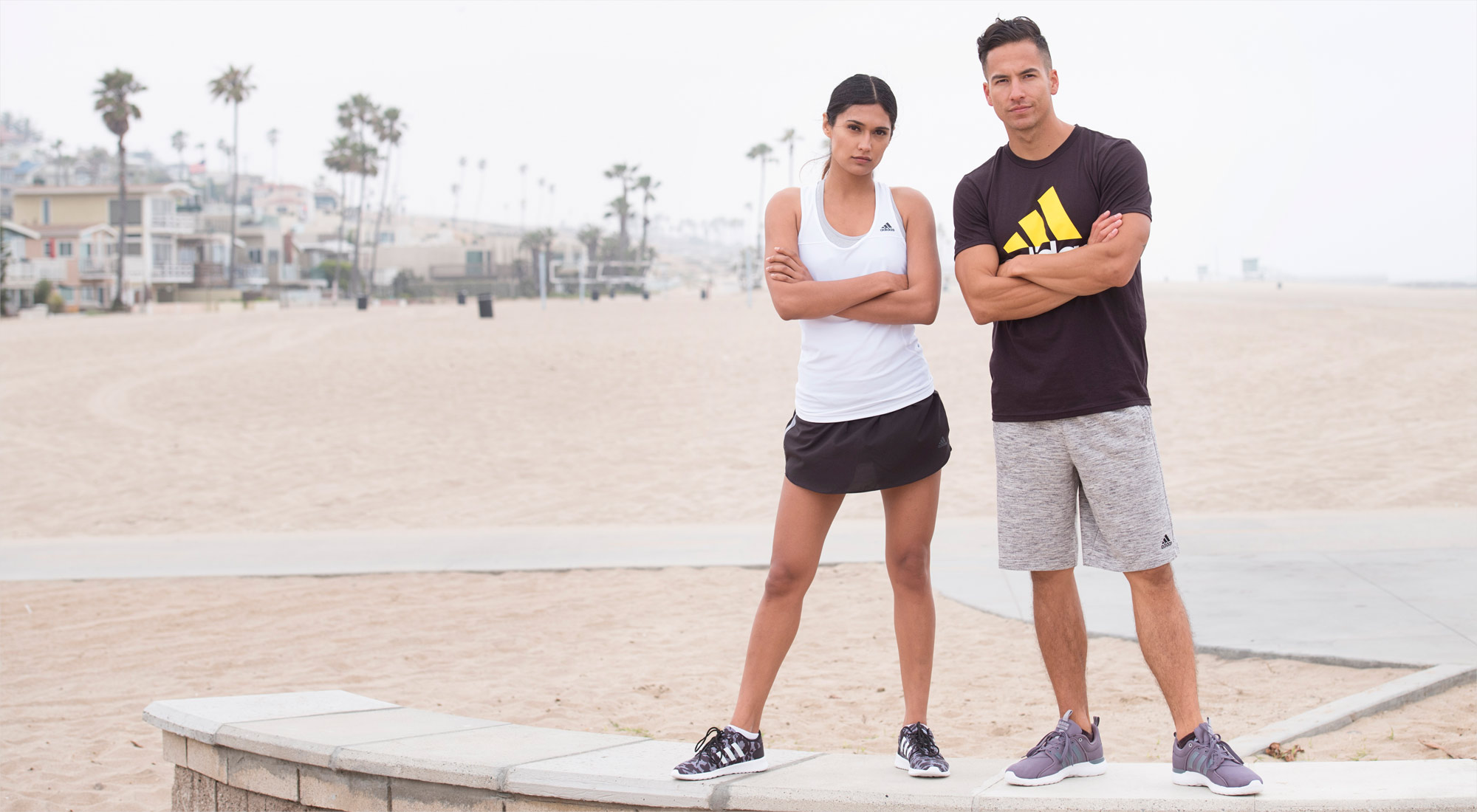 A 6/23 -  Men's And Women's Workout Outfits And Shoes