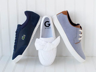 G by Guess, Lacoste And Tommy Hilfiger Fashion Sneakers