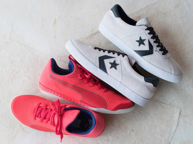 A 7/19 - PUMA And Converse Men's Sneakers