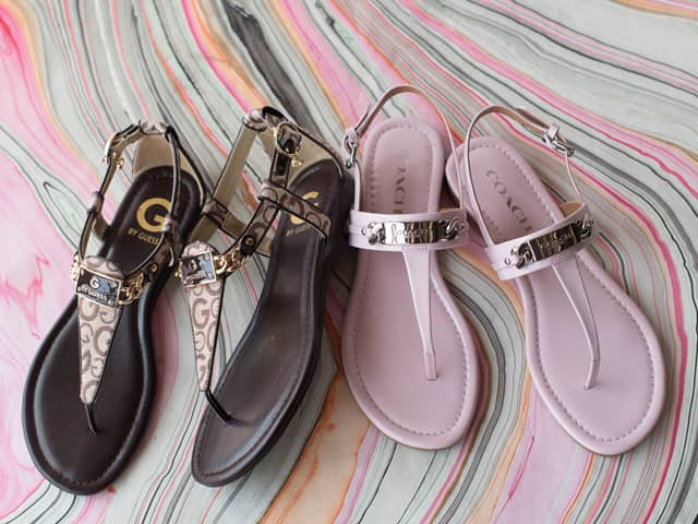 A 7/19 - COACH And G By GUESS Sandals