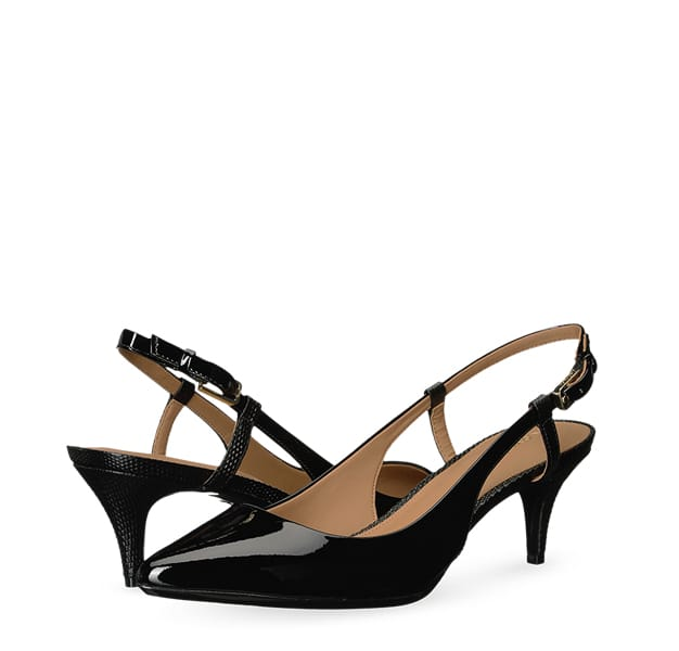 B 7/24 - Calvin Klein Black Kitten Heels