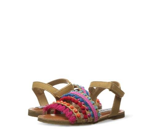 B 7/26 - Steve Madden Kids Pink Sandals