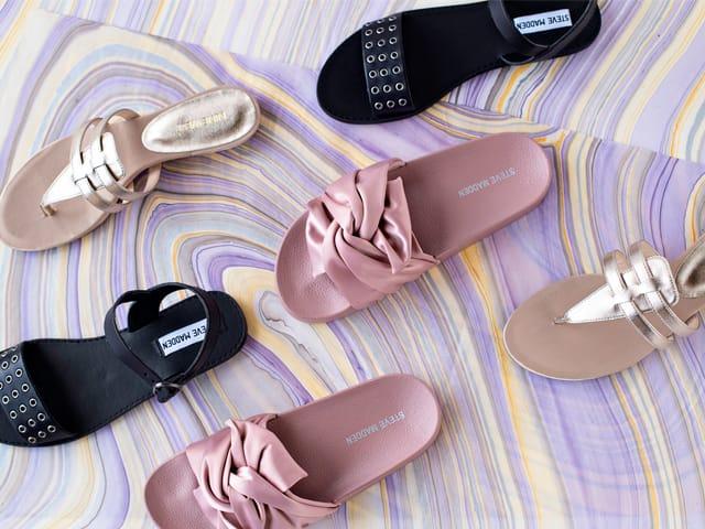 A 7/28 - Steve Madden Flat Sandals