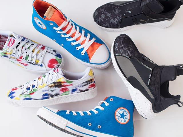 A 7/28 - PUMA Street Sneakers