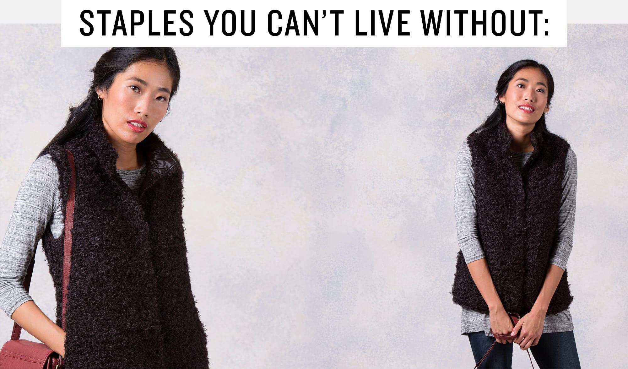 A 11/20 -  Shop Women's Fashionable Layers