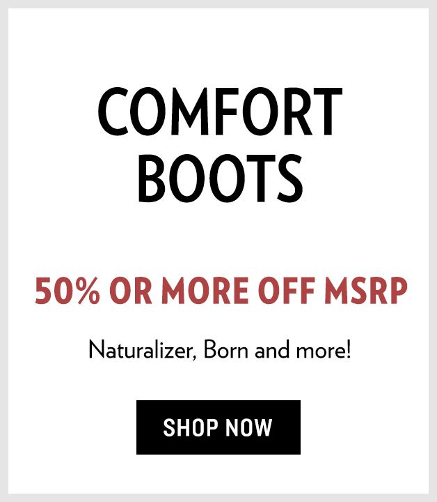 B 12/13 Test - Shop Comfort Boots