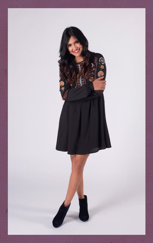 B 1/19 - Perfect Pair: Long Sleeve Dresses & Ankle Boots