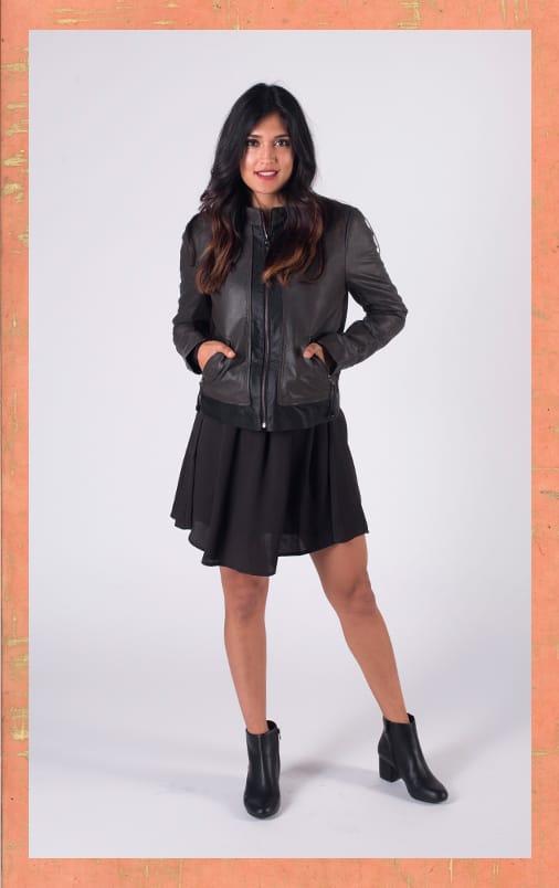 B 1/19 - Shop Moto Jackets and Black Boots