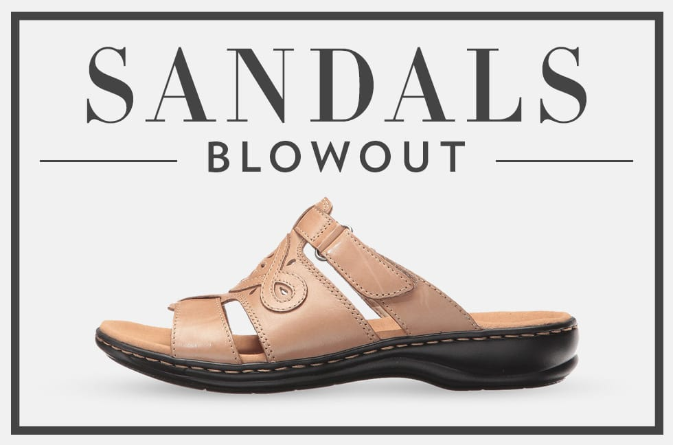 B 2/21 - Shop Sandals Blowout
