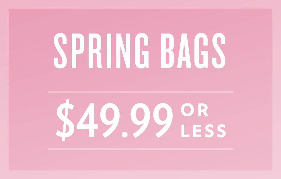 B 3/18 - Shop Spring Bags