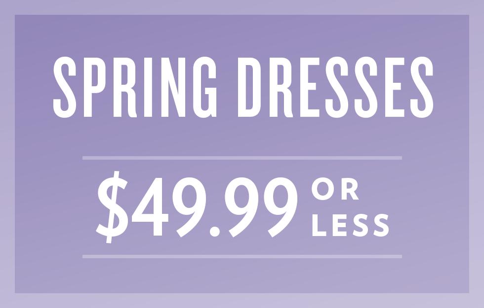 B 3/18 - Shop Spring Dresses