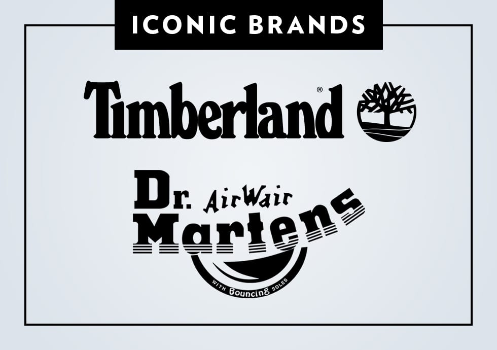 Shop Dr. Martens and Timberland