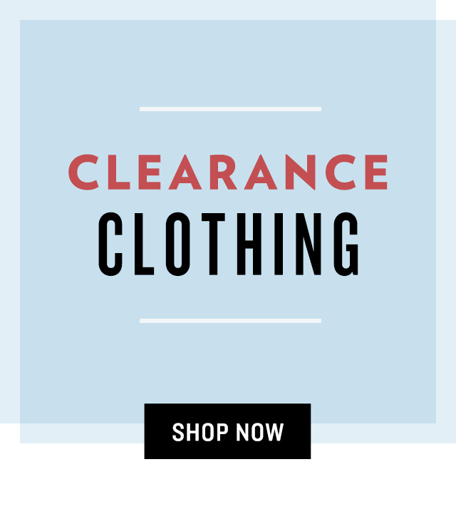 Shop Clearance Clothing