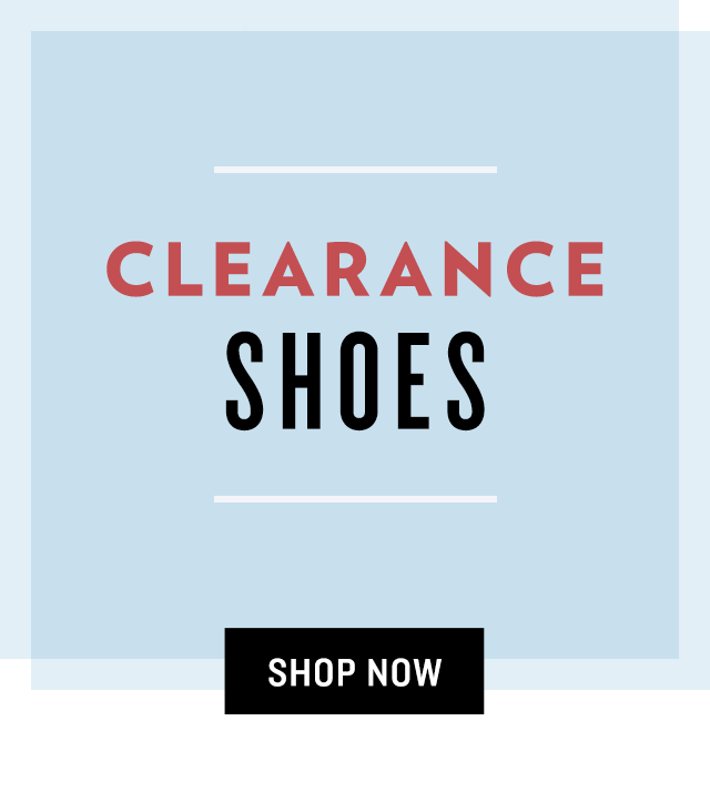 Shop Clearance Shoes